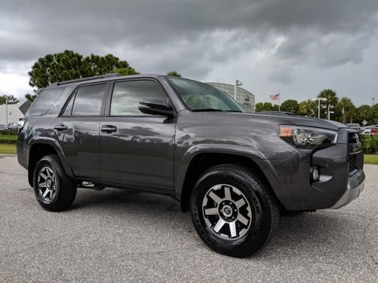 Off Road Tires For Sale >> 2019 Toyota 4runner Trd Off Road Premium